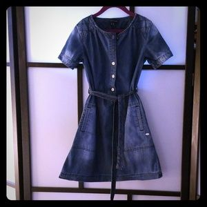 Girls Denim  Dress - Tommy Hilfiger